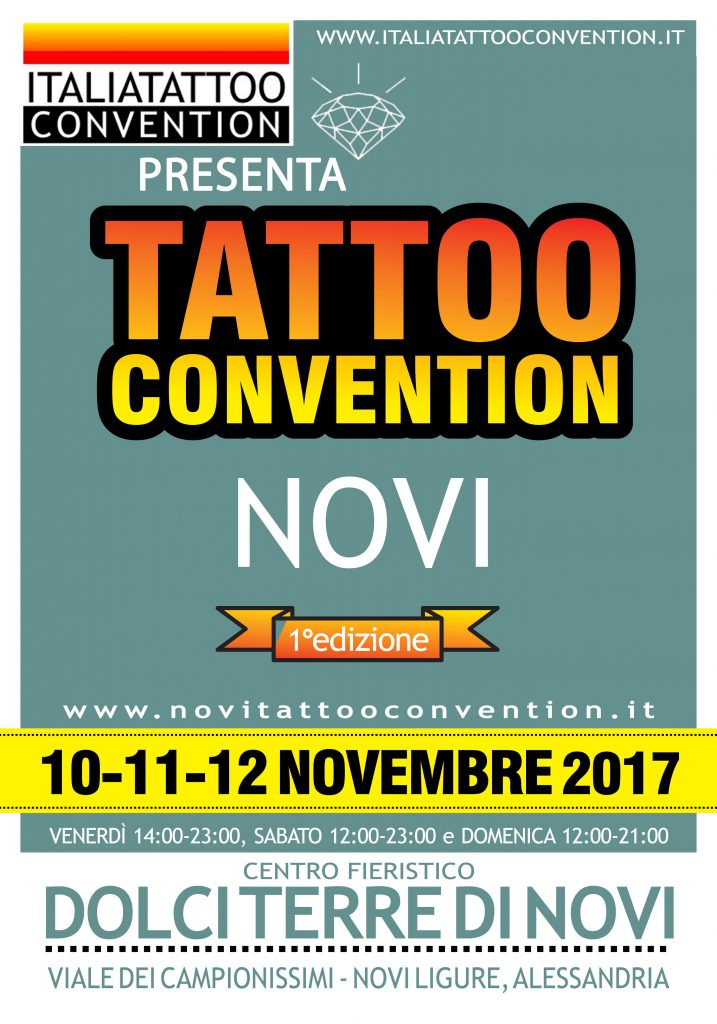Tattoo Convention Novi Ligure  10-11-12 Novembre 2017