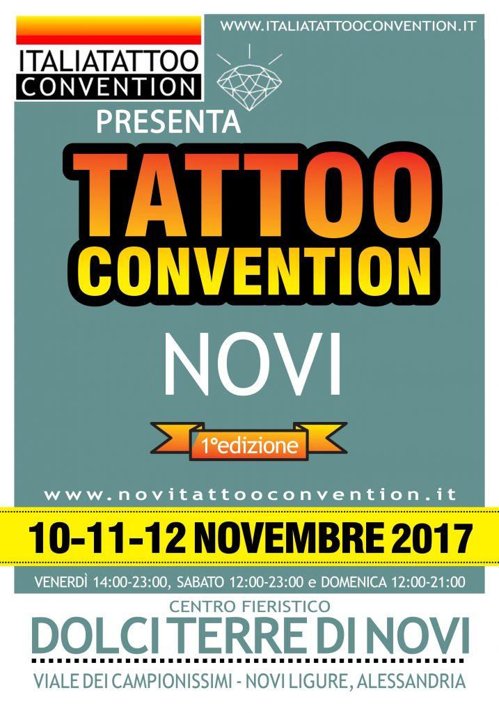 Tattoo Convention Novi Ligure  10-11-12 Novembre 2017