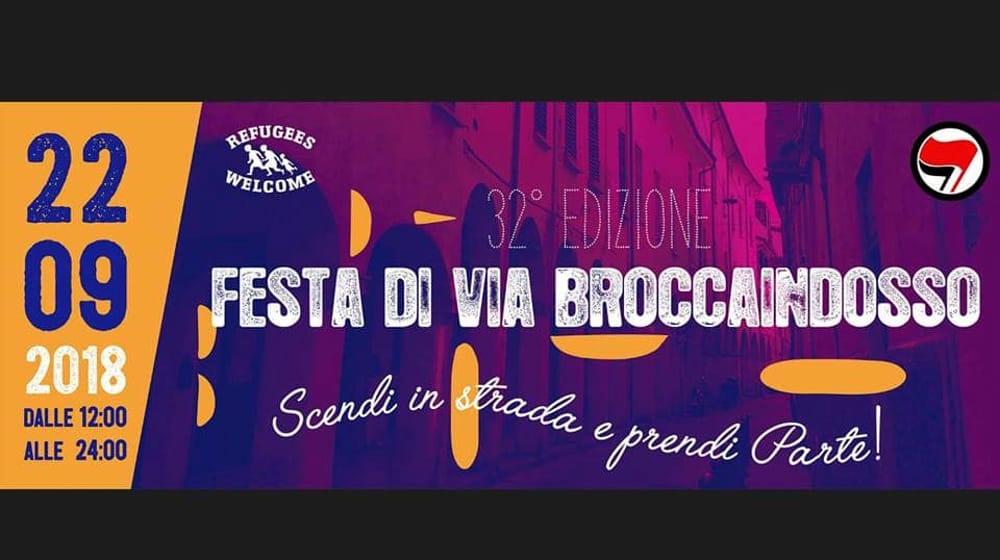 Festa di via Broccaindosso – Flash in Brocca